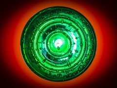 MM - Circles (Julian Chilvers) Tags: circles glass backlit collectable macro macromondays green