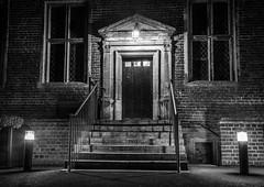 Shaw House (agendean) Tags: newbury shawhouse thatchamphotoclub night bw blackandwhite uk berkshire