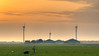 The Three Mills. (Alex-de-Haas) Tags: 85mm burgerbrug d500 dutch hdr holland nederland nederlands netherlands nikkor nikon noordholland boerenland energie energy farmland green landscape landschaft landschap lente meadows molen polder renewable spring sundown sunset turbine weiland wind windmill windturbine windmolen zonsondergang