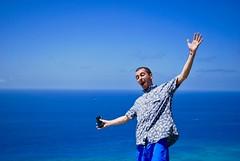 Diamondhead Crater. (Kristin Kurtz) Tags: hawaii oahu honolulu diamondheadcrater diamondheadhike hike portrait