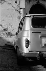 Afternoon walk (magat129245) Tags: leicapolskafilm tanger morocco leica m3 neopan acros100 fujifilm rodinal epson v600 sky architecture urban street shootfilm shadow contrast blackandwhite bw car wall