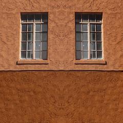 two by two (msdonnalee) Tags: window ventana janela finestra fenster fenetre wall texture fx digitaleffects dwwg
