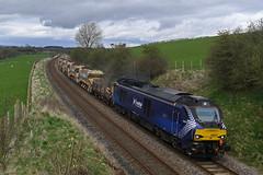 The other Scottie (DieselDude321) Tags: 68007 class 68 drs direct rail services valiant 6k05 1246 carlisle yard crewe basford hall ssm culgaith penrith cumbria eden valley