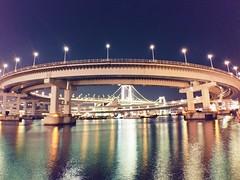 BIG O (SpaceKoboy) Tags: night レインボーブリッジ お台場 rainbowbridge odaiba tokyo