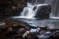 Tankerhoosen Dam (gabe.mirasol) Tags: nikon d800e nikkor 2470mm fx landscape waterscape waterfall rocks foreground nature outdoors hike connecticut new england water