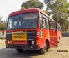 NANDED - PUNE (yogeshyp) Tags: msrtc maharashtrastatetransport nandeddepotbus nandedpunestbus