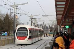 I_B_IMG_8500 (florian_grupp) Tags: asia china train railway railroad passenger electric beijing tram bagou fragranthills xijiao botanicalgardens siemens lrt haidian