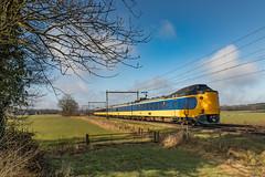 NSR ICMm 4237 richting Enschede. Bathmen (Hans Wiskerke) Tags: bathmen overijssel nederland nl