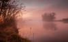 Mist, Molonglo River (Rod Burgess) Tags: act canberra molongloriver sunrise canon5dmkii canon1635mmf4l australia australiancapitalterritory river reflection