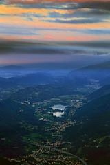 My homeland (Robyn Hooz) Tags: pizzoc monte pianura land terra horizon alba dawn sunrise laghi revine high altitude veneto