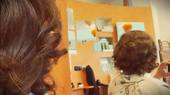 20180317_093218 (lidiasonetto2001) Tags: hairstyling hair salon messa piega lidia sonetto crossdresser capelli curlers beauty parlor hairstyle long dolly acconciature bigodini hairdresser
