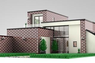 Brick Wall House