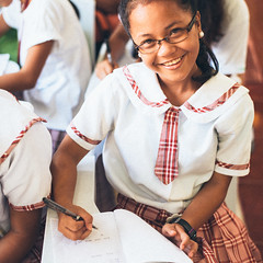 Photo of the Day (Peace Gospel) Tags: portrait children girls kids cute adorable loved smiles smiling smile happy happiness joy joyful peace peaceful hope hopeful thankful grateful gratitude school uniforms classroom studying learning writing students smart education educated educate empowerment empowered empower