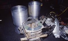White metal bearings, Bridgnorth SVR 23 Mar 1996_scans462 (Gillett's Crossing) Tags: severnvalleyrailway railway shropshire steamlocos