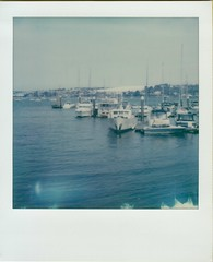 Distant Snow (ifleming) Tags: 600colourfilm impossibleproject 2ndshotsx70service sx70600 polaroidsx70 sx70 cornwall falmouth