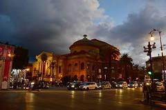 """Il """"Teatro Massimo"""" in una sera di settembre (costagar51) Tags: palermo sicilia sicily italia italy arte storia architettura teatro anticando"""