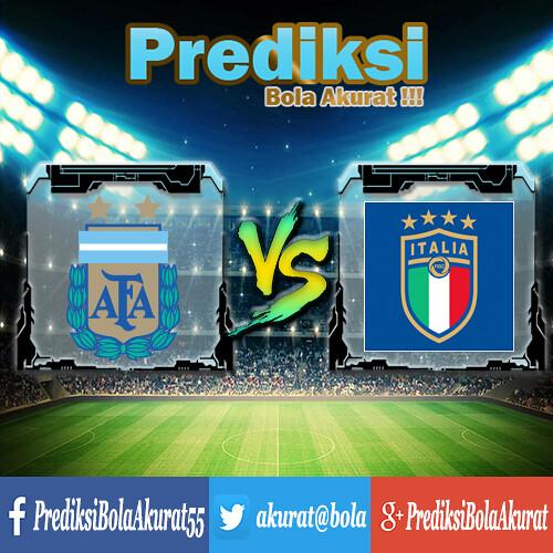 Prediksi Bola Argentina Vs Italy 24 Maret 2018