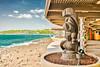 TIKI IS WATCHING (LOURENḉO Photography) Tags: beach hawaii island surf big bigisland visit water ocean relax love wedding tiki god tikigod vacation fun art pacific explore people tropical
