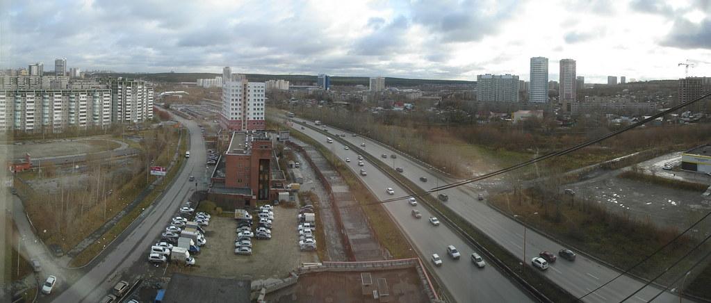 фото: Вид на Объездную дорогу