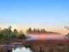 Sunlight touches fog 01-20180317 (Kenneth Cole Schneider) Tags: florida miramar westmiramarwca