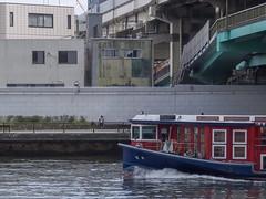 Alone by the River (Eshke04) Tags: alone river boat sumida tokyo