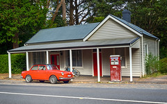 Step back in Time - Mt Macedon (keithob1 Over 2.5 Million views - Thank you) Tags: red mtmacedon car fuel fuelpump australia victoria vintage