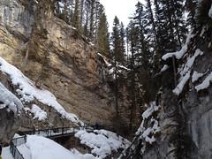 Johnston Canyon (Mr. Happy Face - Peace :)) Tags: falls ice snow forest art2018 hiking banff alberta canada johnstoncanyon