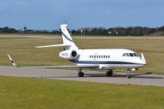 PH-CTH Dassault Falcon 2000 EGJB 13/3/18 (David K- IOM Pics) Tags: egjb gci guernsey airport phcth dassault falcon 2000 2000lx f2th business jet