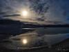 IMGP9853-Edit (Matt_Burt) Tags: bluemesareservoir clouds fullmoon ice moonrise reflection sky thaw water