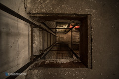 Ladder down (Carismarkus) Tags: abandonedplace decay deutschland industie industry lostplace sensenfabrik urbex verfall verlassen