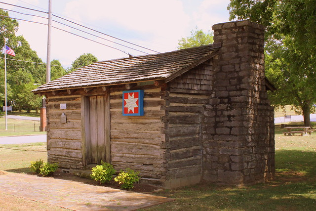 First Marshall County Court House (1836) - Lewisburg, TN