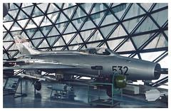 Mig-21F-13,(L-12), serial 22532 (Ciaranchef's photography.) Tags: mig21 mig21f13 coldwar coldwarjets aviationmuseum aviationphotograph nikonaviation nikond7000 nikon18300mmf3556gedvr preservedaeroplanes preservedaircraft jetclassic jets jetfighter militaryaviation militaryjets museums russian russianaircraft sovietaircraft sovietbloc