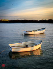 Boats (brekendo) Tags: boats denmark sunset goldenhour