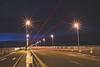 over the bridge... (Jess Feldon) Tags: light lighttrails longexposure jessfeldon severnbridge severnestuary aust gloucestershire nighttime nighttimephotogrpahy night road bridge firstsevernbridge severncrossing streetlights sky twinke
