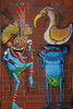 Urban Nation Cranio (Marco Braun (In holidays)) Tags: urbanart streetart graffit berlin 2017 urbannation kopf head coloured colourful farbig bunt indianer mann homme man indian cranio blau blue bleu brasilien brasiil batman deutschlandgermanyallemangne