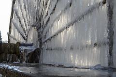 Le gel (christian.man12) Tags: gel roue aube