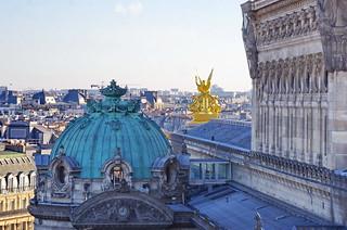 603 Paris en Février 2018 - le toit de l'Opéra