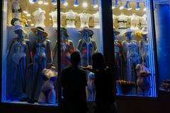 Maybe that one? (beyondhue) Tags: window display shopping light dark mannequin beyondhue shopper