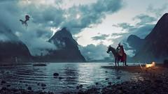 The Knight (Luis Guarddón) Tags: mattepainting photomanipulation fotomanipulación fotomontaje