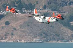 Coast Guard pass (SBGrad) Tags: 2017 300mmf28dii alr d300s dolphin eurocopter fleetweek hc27j hh65 nikkor nikon sf sanfrancisco spartan uscoastguard uscg airshow helicopter tc17eii