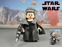 Custom LEGO Star Wars The Last Jedi: General Leia (Will HR) Tags: starwars lego custom thelastjedi