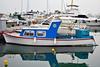 DSC_1717 (mikebsnaps) Tags: cloudy day reflection blue fisherman net summer port beach coast athens greece glyfada nikon d5500 35mm