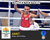 Amit - Boxing, wins silver at gold coast cwg 2018 (Cloudy4u) Tags: 2018 amit commonwealthgames goldcoast india mensboxing silvermedal