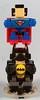 Batman & Superman (Micro-Mood Scale) (M<0><0>DSWIM) Tags: lego microscale superheroes batman superman