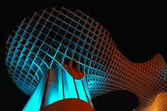 Metropol Parasol (DAVIDIGITAL) Tags: metropol parasol sevilla noche night lights longexpo exposition long canon eos 5d mark 3 5dmark3 tokina tokinalens spain españa andalucia arquitecture wood