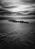 Deceptively Calm (mikeyatswb) Tags: boyntonbeach florida unitedstates us oceaninletpark blackandwhite bw monochrome infrared ir singhrayfilters iray 830nm seascape contrast longexposure
