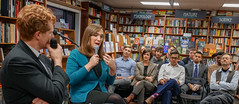 2018.03.20 Sarah McBride and Rep Joe Kennedy, Politics and Prose, Washington, DC USA 4112