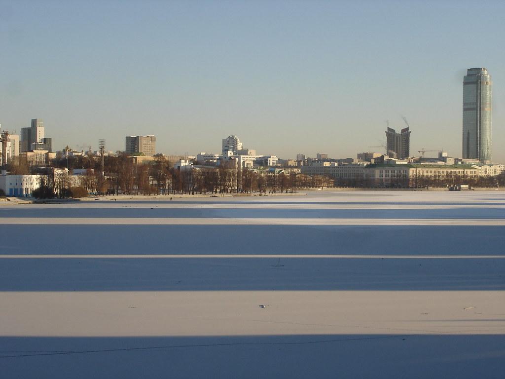 фото: Тени на Городском пруду