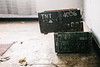 23/30 2017/03 (halagabor) Tags: nikon nikkor vintagelens manualfocus d610 decay derelict urban exploration urbex urbanexploration old lost forgotten army base military budapest hungary hungarian box boxes tnt room indoor