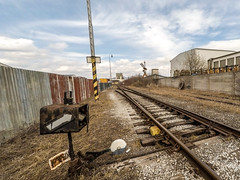 Old industrial railway (JuRoot) Tags: railway industry train track rail city railroad transportation line station transport freight metal power way steel tracks logistics thoroughfare cargo platform industrial